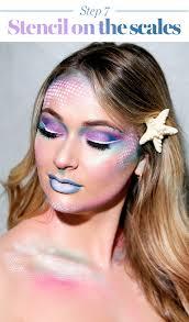 mermaid makeup tutorial 2017 the prettiest mermaid costume to try glamour