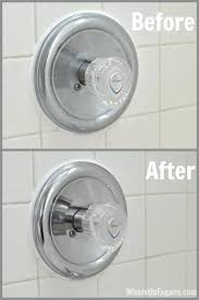cleaning bathtub vinegar baking soda the easy way to get your faucet shiny again how