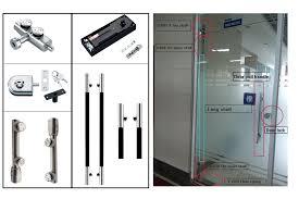 solid glass door pull handle h type sliding glass door pull handle double sided door pull