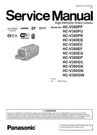 camcorder wiring schematic anything wiring diagram panasonic hc v380 v380k full hd camcorder service manual in 2018 vehicle wiring schematic camcorder wiring schematic