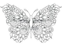 Printable Butterfly Coloring Pages Pdf Colouring Twinkl For