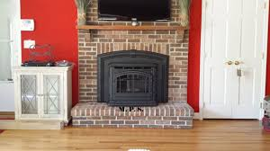 Tall Living Room Cabinets Living Room Fireplace Screen With Door Log Insert Stone Surround
