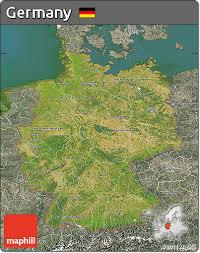 free satellite map of germany, semi desaturated, land only Satellite Map Of Germany satellite map of germany, semi desaturated, satellite map germany