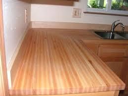 maple butcherblock countertops