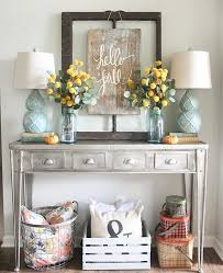 Console Table Decorating Ideas Real Estate Directories