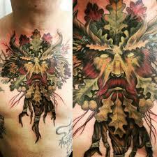 Tattoo Cernunnos Tattoos Green Man Tattoo Tree Tattoo Men