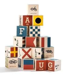 baby wooden blocks made in nautical ship flag toy alphabet app baby wooden blocks