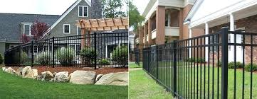 fence pics steel and aluminum residential images wire styles s68 fence
