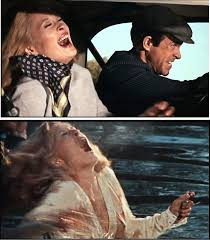 dreams are what le cinema is for bonnie clyde  bonnie clyde laughing and dying the killing gets less impersonal and consequently less funny