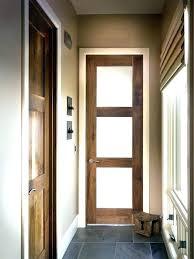 interior glass barn doors panel door frosted 4 b