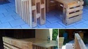 furniture made from wood. Patio Furniture Made From Recycled Wooden Pallets | Things Within Wood