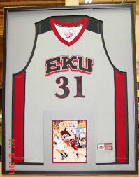 ... Framed Basketball Jersey ...