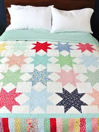 Reverse Sawtooth Star Quilt Pattern - Suzy Quilts & Sawtooth Star Block Adamdwight.com