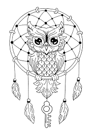 Owls For Kids Owls Kids Coloring Pages