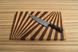 Cutting Board Patterns Mesmerizing Fan Pattern EndGrain Cutting Board 48motif