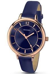 sekonda watches houseofwatches co uk sekonda ladies editions blue strap watch 2136