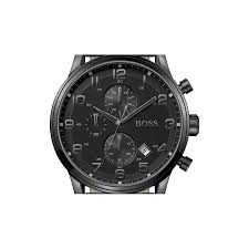 hugo boss black 1512567 watch shade station