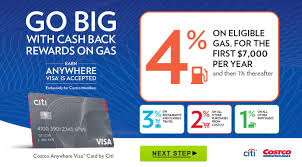 ways to save big at costco net costco anywhere visa card