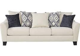 Deca Drive Cream Sofa $499 99 94W x 36D x 38H Find affordable