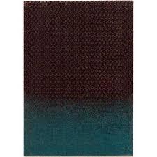 dipgeo dark brown 8 ft x 11 ft indoor area rug