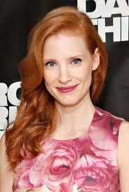 fresh makeup look red hair