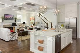 chandeliers in kitchen