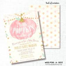 Pumpkin Invitations Template Pumpkin Baby Shower Invitations Twin Invitation Template