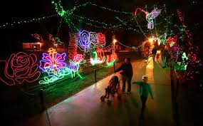 Christmas Lights At Potter Park Zoo Dont Miss Zoo Lights A Magical Tucson Holiday Tradition