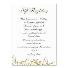 Gift Registry Template Gold Gift Registry Cards Business Card Template