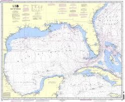 Gulf Coast Nautical Charts Noaa Nautical Chart 411 Gulf Of Mexico