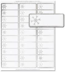 Christmas Address Labels The Image Shop