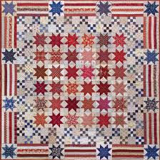 What a beautiful quilt! Could be for the Quilts of Valor program ... & Yes We Can America Quilt Pattern - Norma Whaley Patterns - Timeless  Traditions Pattern - DIY Home Decor - Star Quilt Patterns - Fourth Of July  Quilt Pattern ... Adamdwight.com