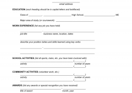 Fillable Resume Pdf Free Sample Pdf Template Fillable Cover ...