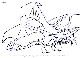 Small Picture Learn How to Draw Cloudjumper from How to Train Your Dragon 2 How