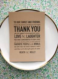 best 25 wedding menu cards ideas on pinterest wedding menu Funny Late Wedding Thank You Cards 50 wedding acts of kindness 42 include a thank you card at each guest's funny late thank you cards
