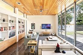 living room modern home austin