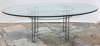 vintage round dining table with glass top for 1