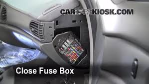 interior fuse box location buick century buick interior fuse box location 1997 2005 buick century 2004 buick century custom 3 1l v6