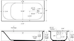 tub dimensions