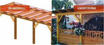 Terrassenüberdachung Designe Idee : Terrassendach Holz Selber
