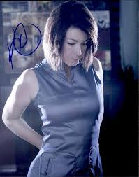 Kim Rhodes signed AUTHENTIC 8x10|Free Ship|The Autograph Bank