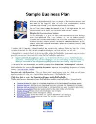 Example Of Business Plan Filename – My College Scout