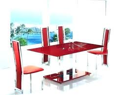 Red dining table set Coaster 101683 Red Dining Room Table Red Dining Room Set Five Piece Dining Set Glass Dining Table Yepi Games Red Dining Room Table Yepigamesinfo