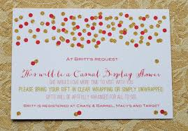 Bridal Shower Thank You Card Wording For Mother In Law  Lading For Display Baby Shower Wording