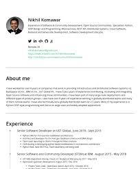 That really depends on the position you're applying for. Nikhil Komawar Cakeresume Resume Samples