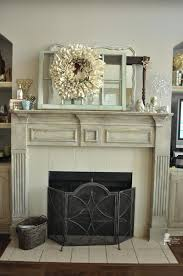 distressed fireplace mantels painted fireplace mantel diy rustic fireplace mantel shelf distressed fireplace mantels