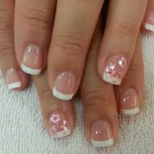 Simple french nail designs for short nails | Nail Art - Anytime ...