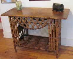 rattan console table. Furniture, Rattan Console Table Sofa Narrow With Drawers Tables Office Wood