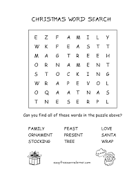 Free Printable Christmas Activity Pages Easy Letter From