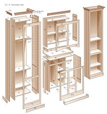 kitchen cabinet plans. Kitchen Pantry Cabinet Plans Diy Rolling Island. Island